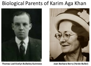Biological Parents of Karim Aga Khan